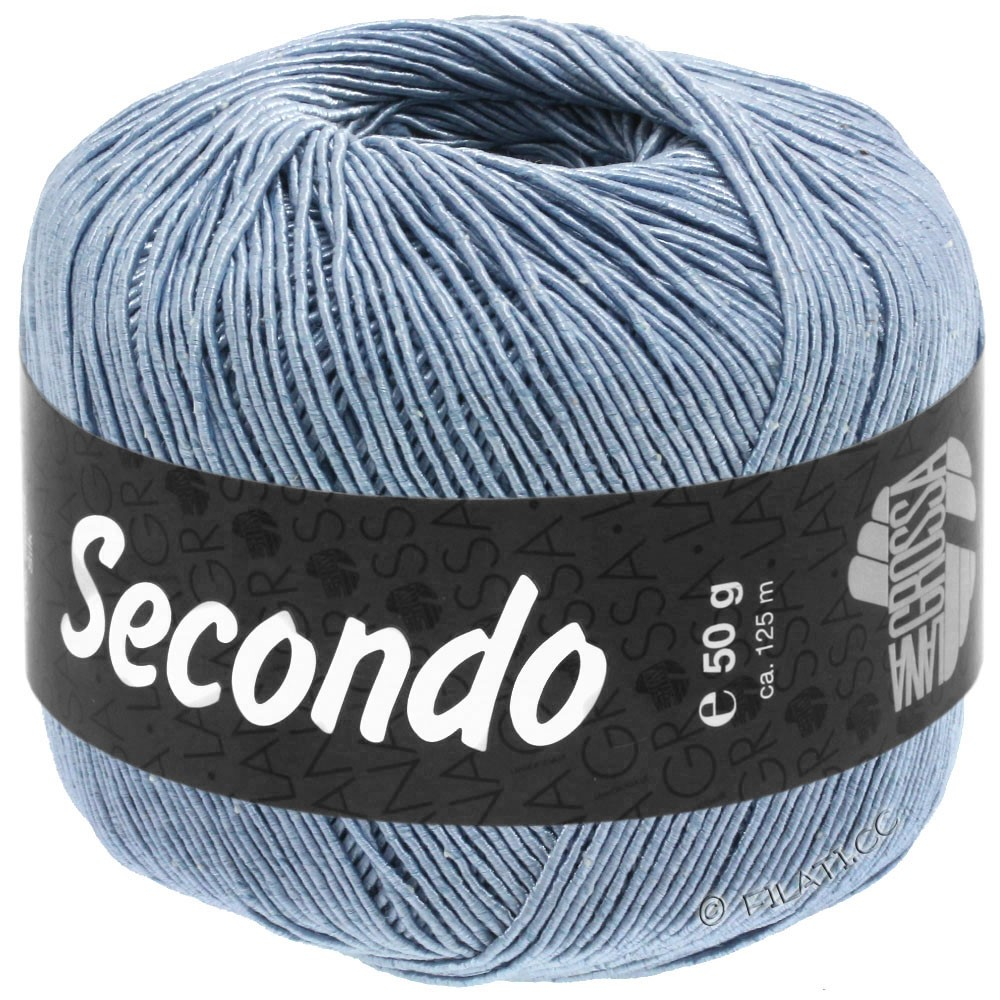 SECONDO - von Lana Grossa | 82-Taubenblau