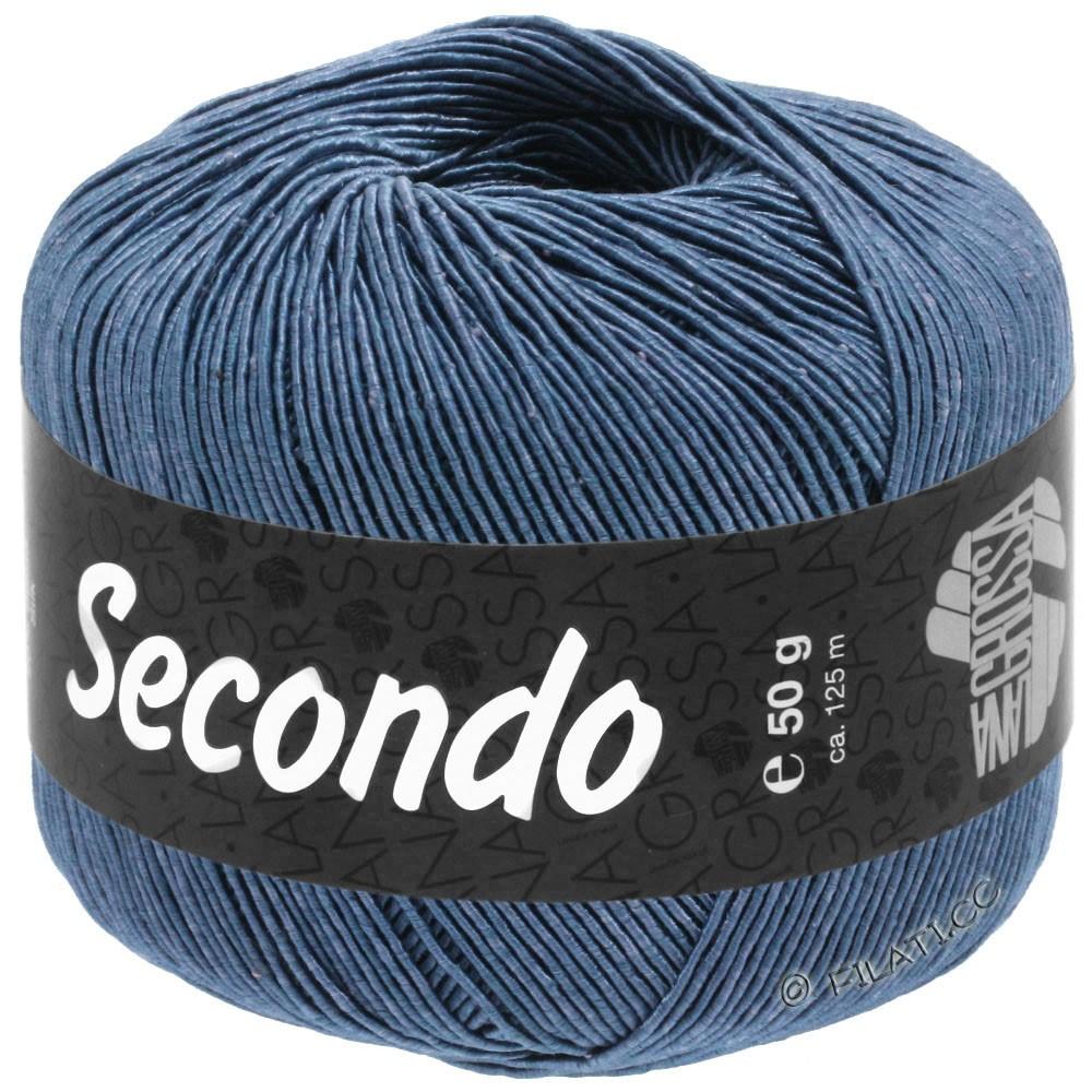 SECONDO - von Lana Grossa | 84-Stahlblau