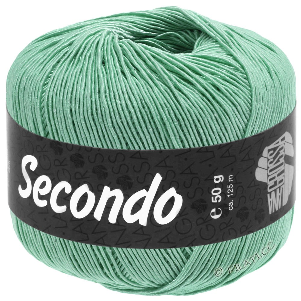 SECONDO - von Lana Grossa | 90-Pastelltürkis
