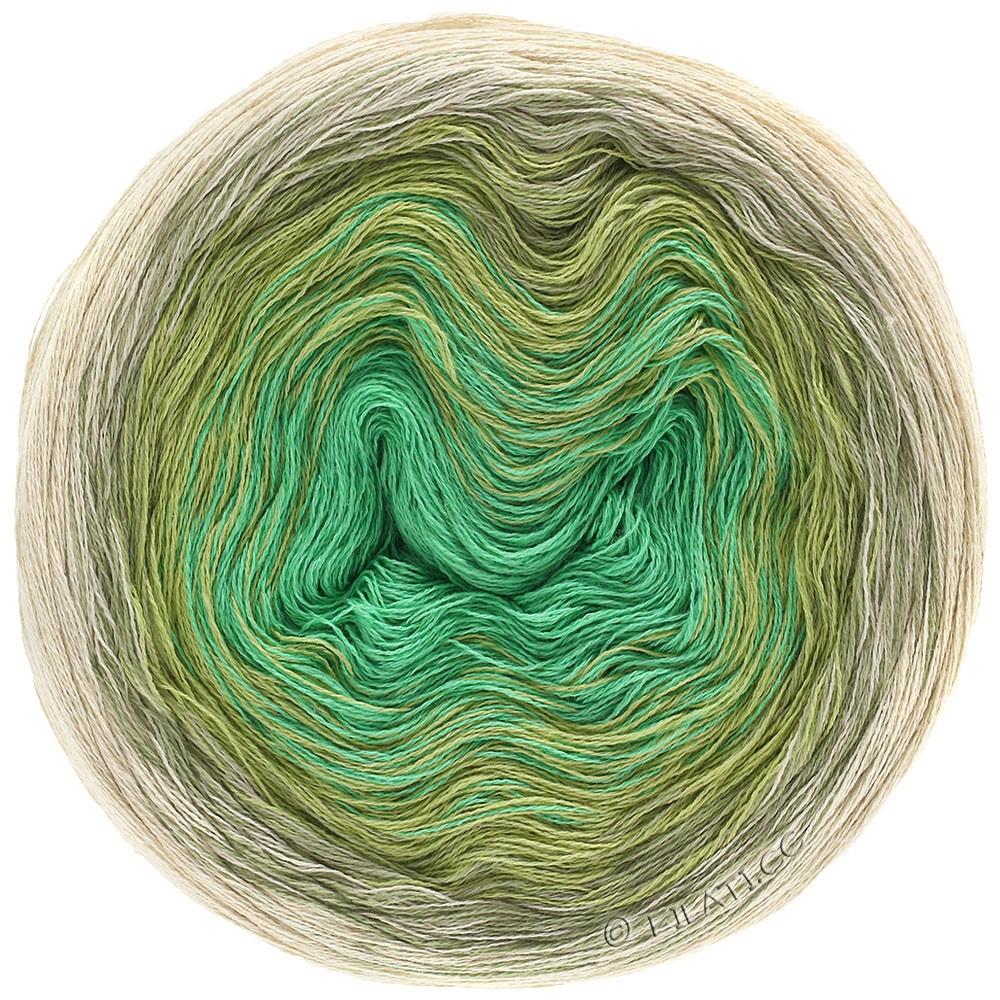 SHADES OF COTTON LINEN - von Lana Grossa | 706-Natur/Beige/Schilfgrün/Jade