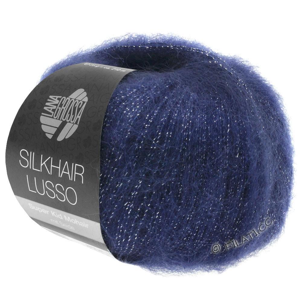 SILKHAIR Lusso - von Lana Grossa   907-Dunkelblau