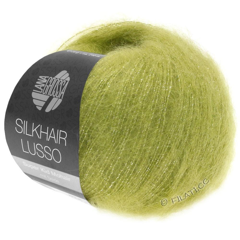 SILKHAIR Lusso - von Lana Grossa   921-Gelbgrün