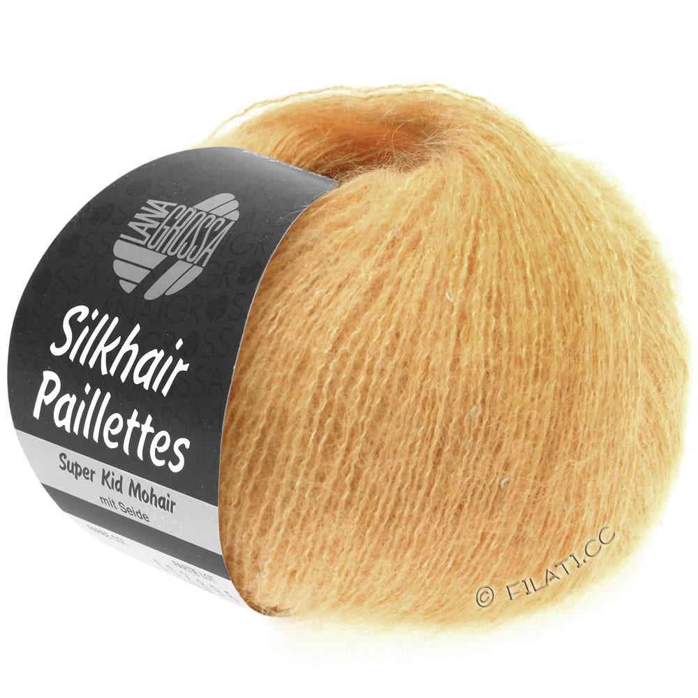 SILKHAIR Paillettes - von Lana Grossa | 413-Apricot