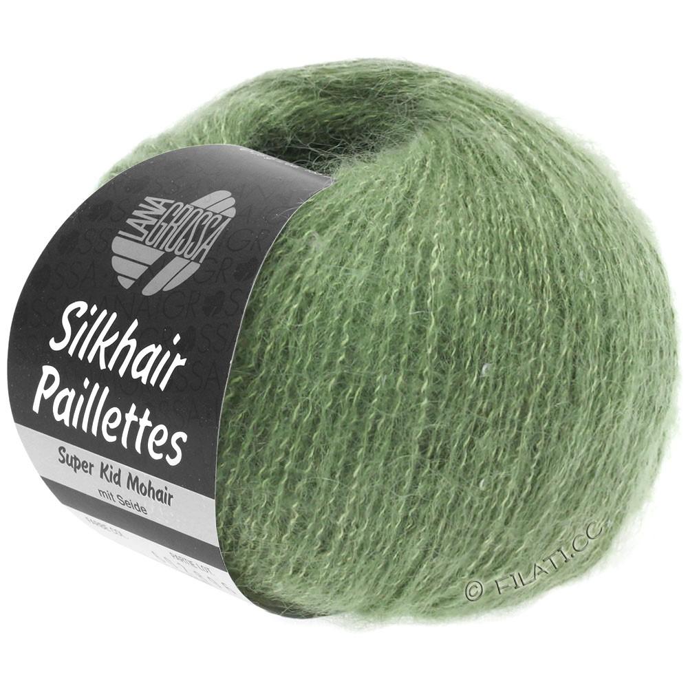 SILKHAIR Paillettes - von Lana Grossa | 420-Resedagrün