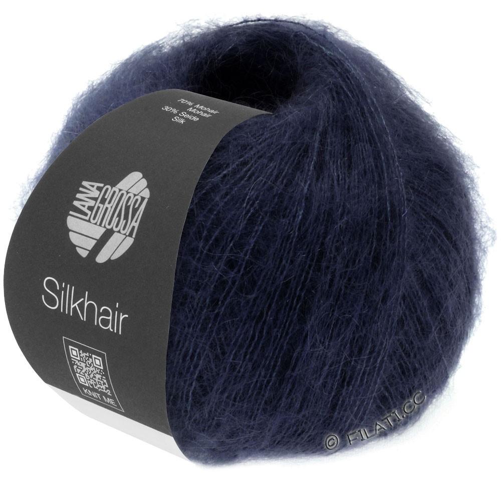 SILKHAIR  Uni/Melange - von Lana Grossa | 027-Nachtblau