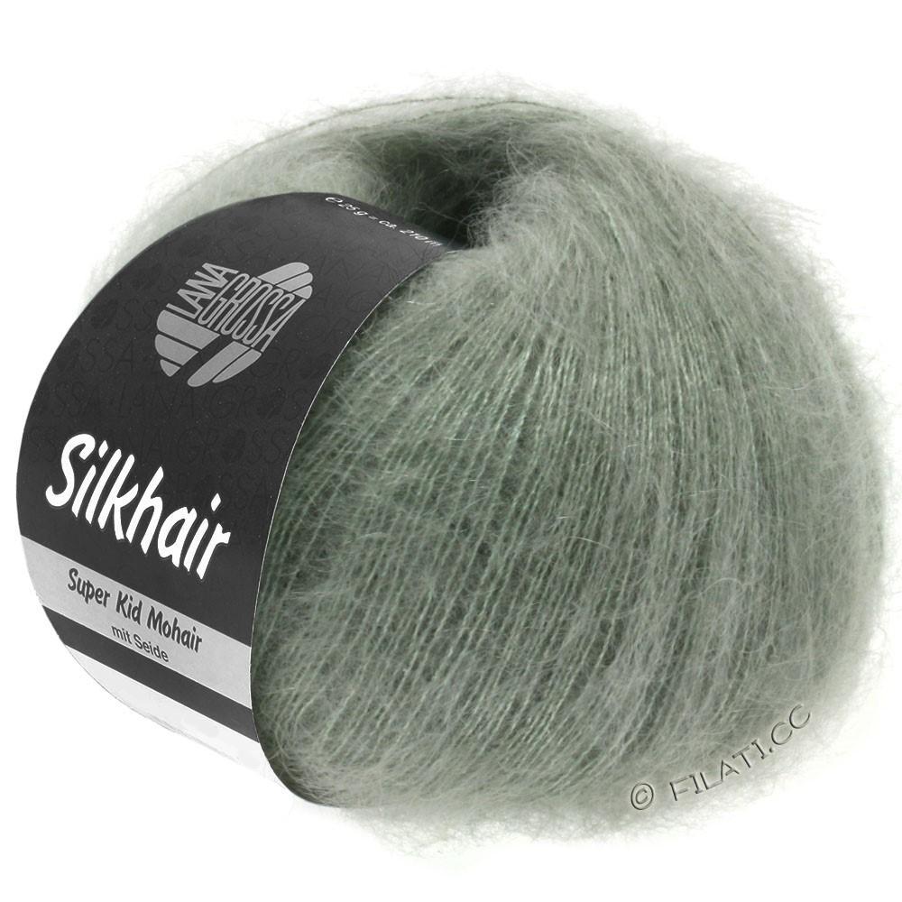 SILKHAIR  Uni/Melange - von Lana Grossa | 105-Graugrün