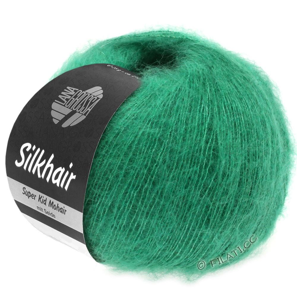 SILKHAIR  Uni/Melange - von Lana Grossa | 109-Smaragd