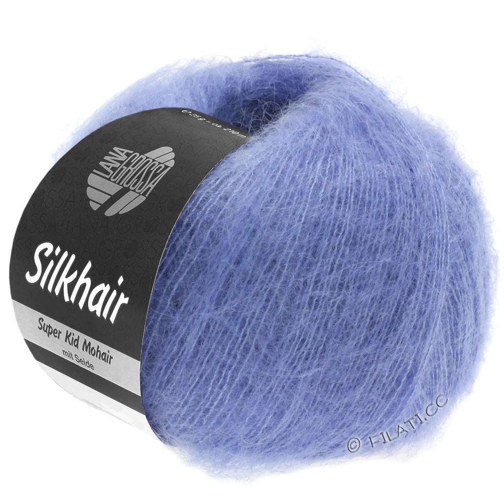 SILKHAIR  Uni/Melange - von Lana Grossa | 116-Veilchenblau