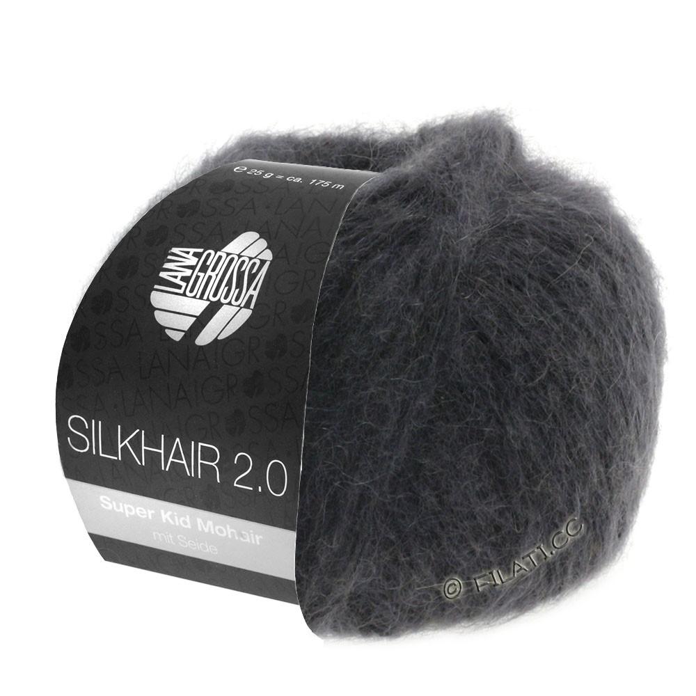 SILKHAIR 2.0 - von Lana Grossa | 01-Anthrazit