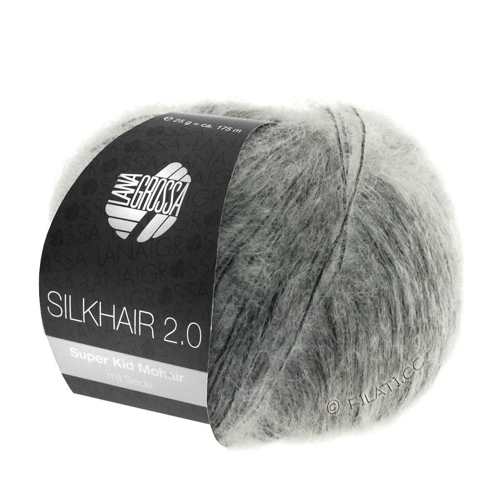 SILKHAIR 2.0 - von Lana Grossa | 02-Grau