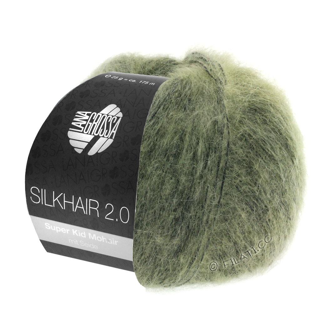 SILKHAIR 2.0 - von Lana Grossa | 04-Graugrün