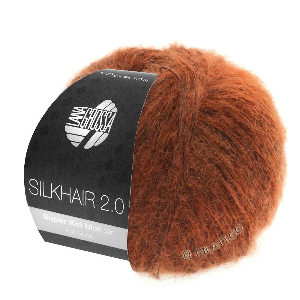 SILKHAIR 2.0 - von Lana Grossa | 06-Rost