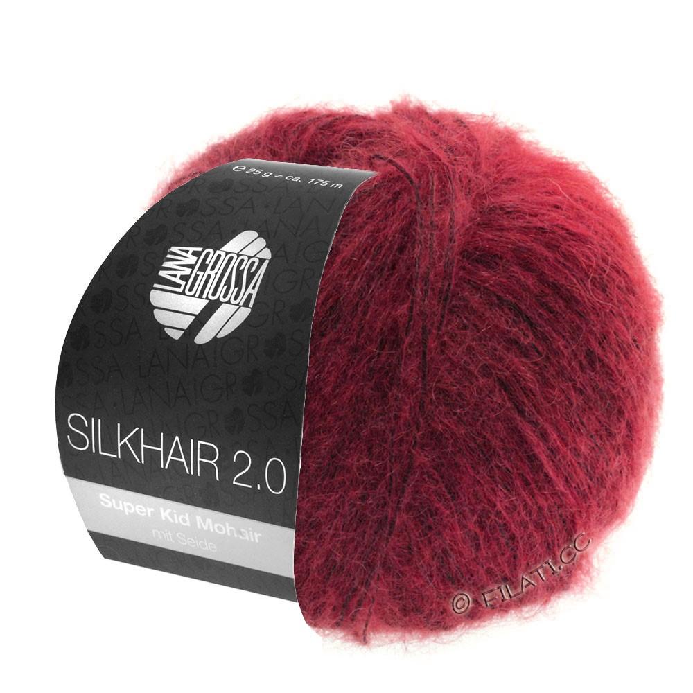SILKHAIR 2.0 - von Lana Grossa | 07-Rot