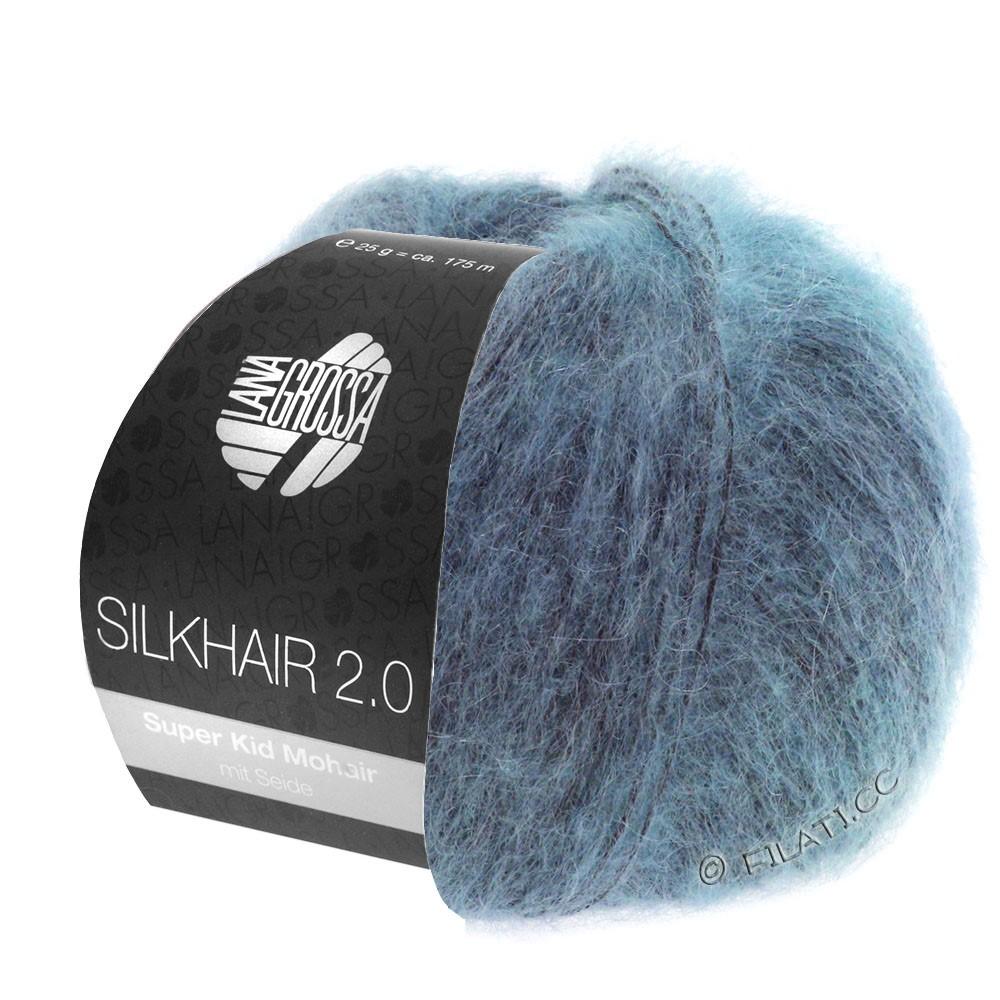 SILKHAIR 2.0 - von Lana Grossa | 10-Graublau
