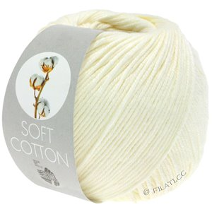 SOFT COTTON - von Lana Grossa | 02-Ecru