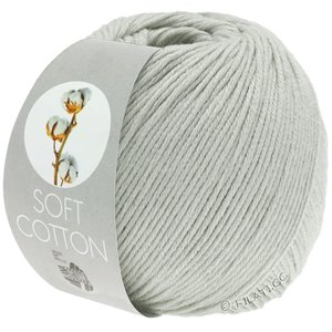 SOFT COTTON - von Lana Grossa | 18-Hellgrau