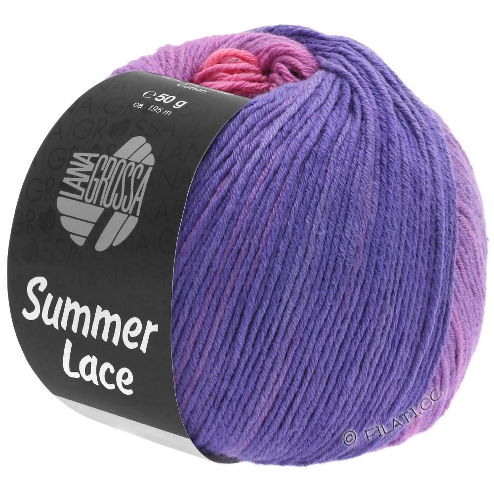 SUMMER LACE DEGRADÉ - von Lana Grossa | 102-Pink/Lila/Blauviolett