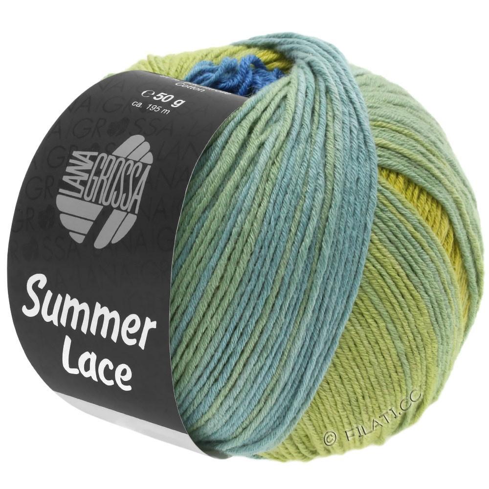 SUMMER LACE DEGRADÉ - von Lana Grossa | 104-Gelb/Blau/Jadegrün