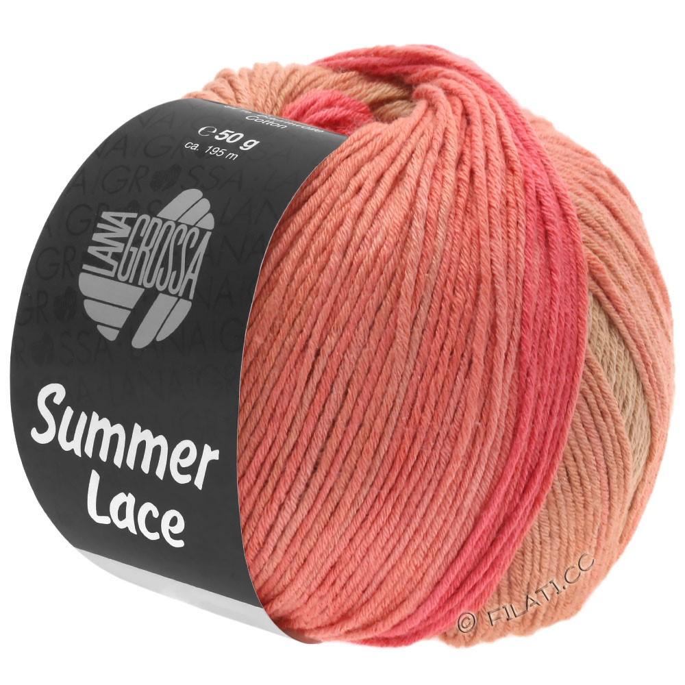 SUMMER LACE DEGRADÉ - von Lana Grossa | 105-Pfirsich/Himbeer/Sand