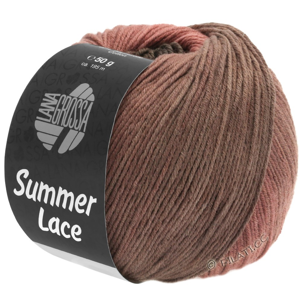 SUMMER LACE DEGRADÉ - von Lana Grossa | 106-Terracotta/Schokobraun/Beigebraun