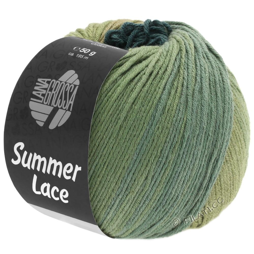 SUMMER LACE DEGRADÉ - von Lana Grossa | 107-Schilf/Khaki/Graugrün