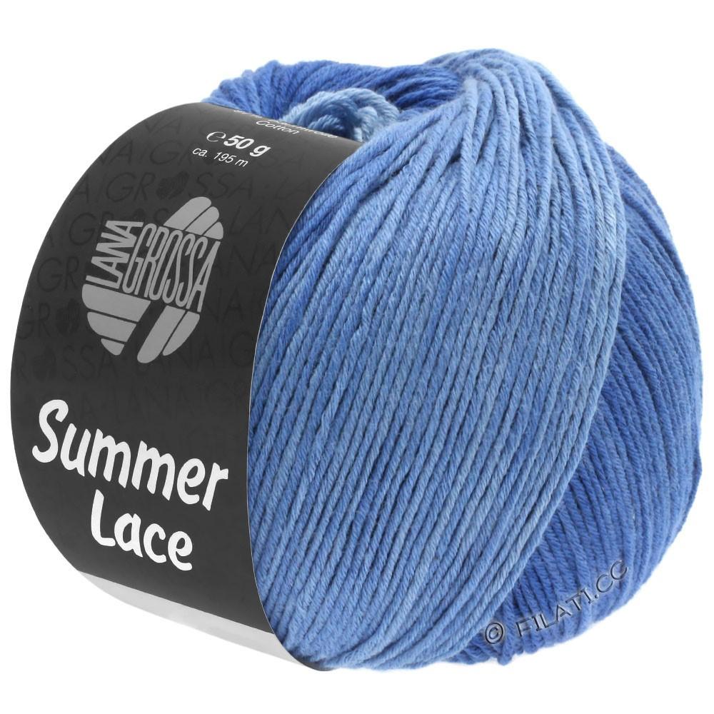 SUMMER LACE DEGRADÉ - von Lana Grossa | 108-Hellblau/Mittelblau/Dunkelblau