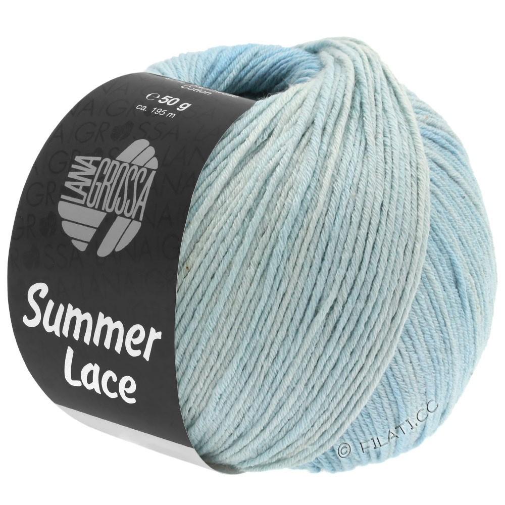 SUMMER LACE DEGRADÉ - von Lana Grossa | 109-Natur/Pastellblau/Hellblau