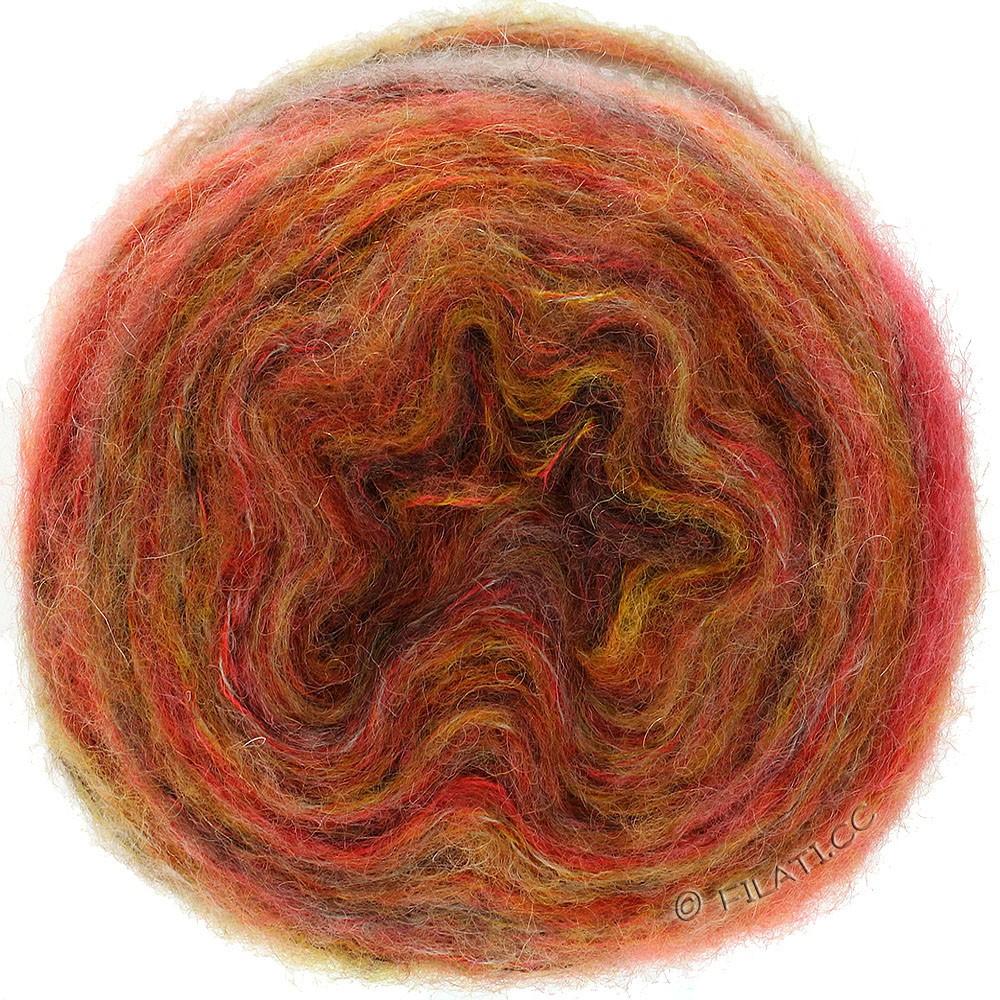 TUTTI - von Lana Grossa   04-Orange/Gelb/Natur/Erdbeerrot/Mokka