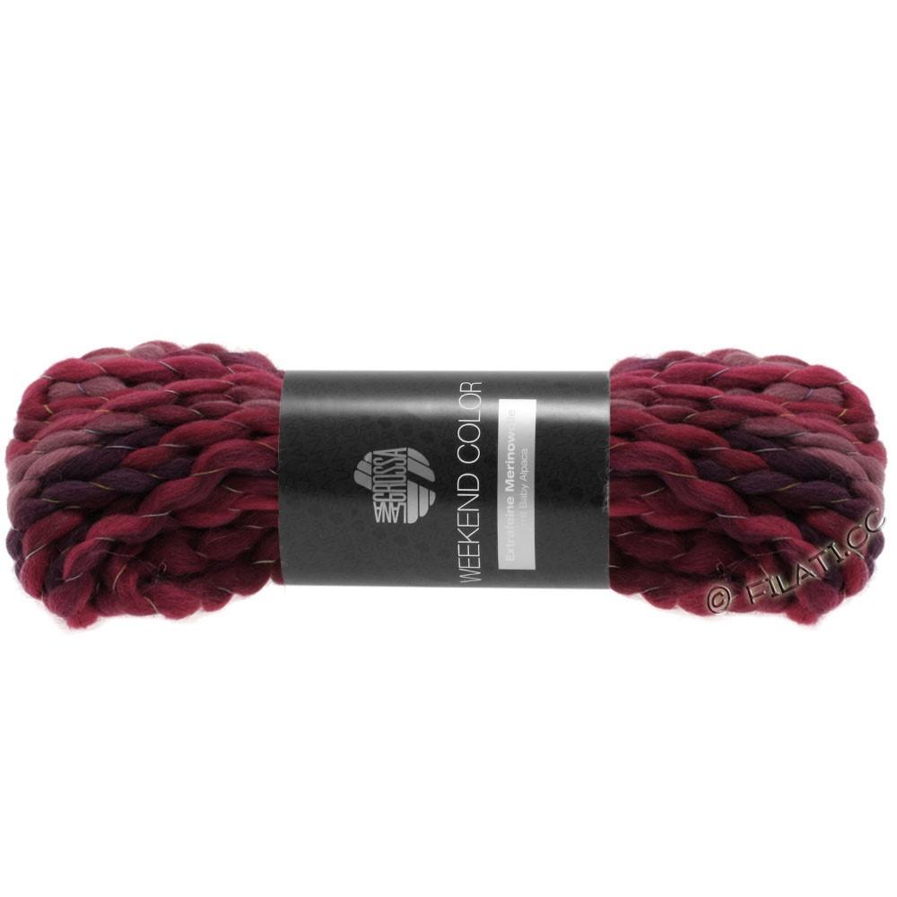 WEEKEND Color - von Lana Grossa   204-Beere/Bordeaux/Rotviolett/Aubergine