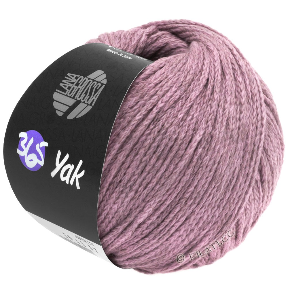 365 YAK - von Lana Grossa | 07-Zartrosa/Grau