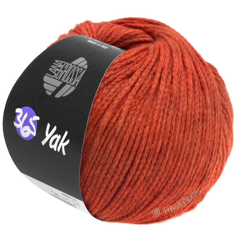 365 YAK - von Lana Grossa | 20-Rot/Dunkelrot