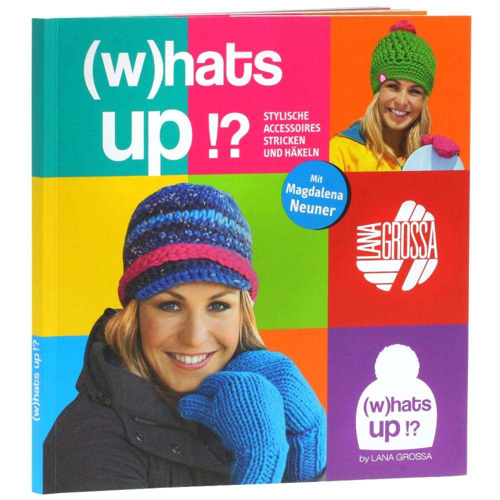 (w)hats up!? Strickbuch von Lana Grossa