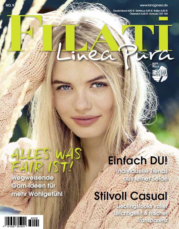 LINEA PURA No. 9 - Журнал на немецком и на русском языке инструкции von Lana Grossa