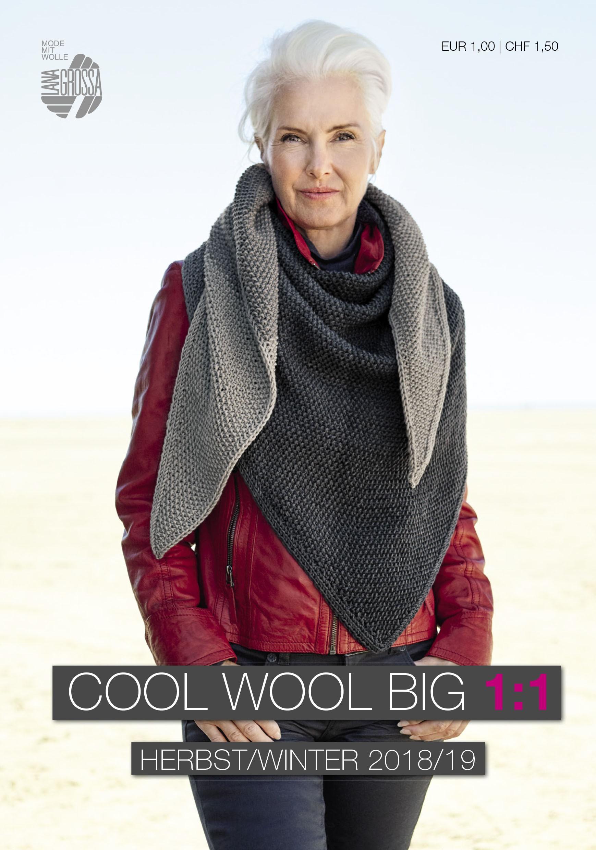 COOL WOOL BIG 1:1 Flyer von Lana Grossa