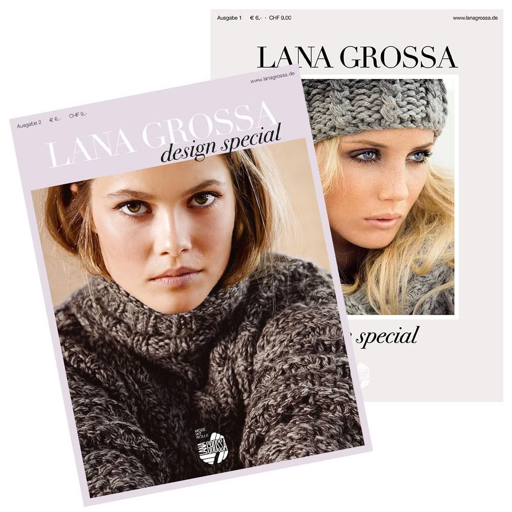Design Special No. 1, 2 und 4 von Lana Grossa