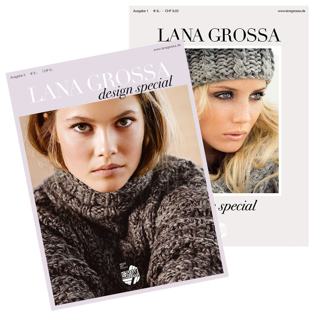 Design Special No. 1 & 2 von Lana Grossa