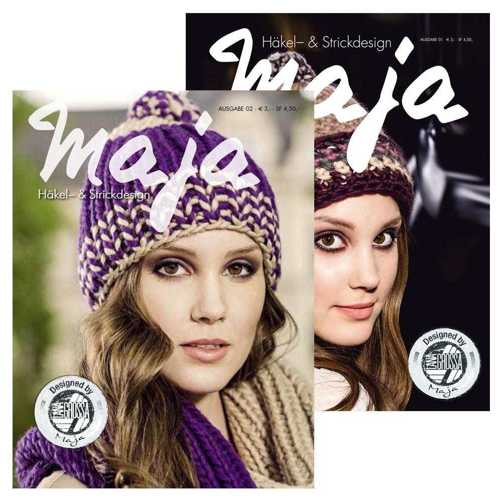 Häkel- & Strickdesign MAJA No. 1+2 von Lana Grossa