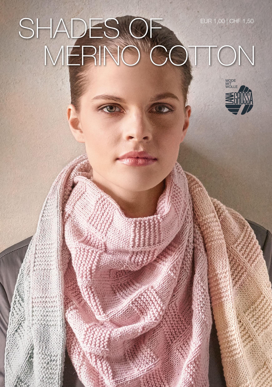 SHADES OF MERINO COTTON Flyer  von Lana Grossa