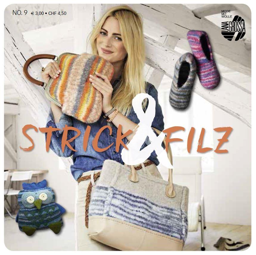 STRICK & FILZ No. 9 von Lana Grossa