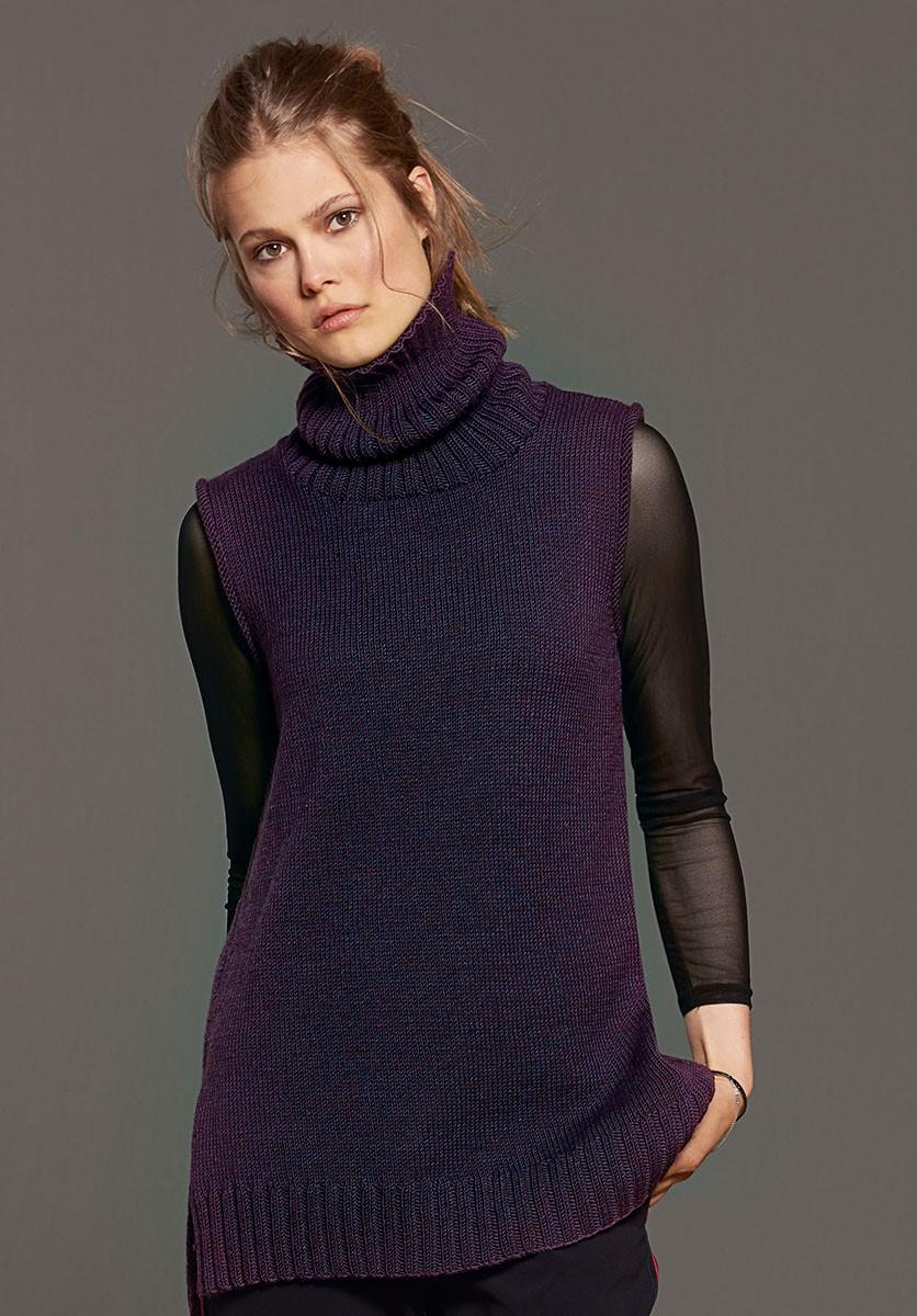TUNIKA Cool Wool Melange von Lana Grossa