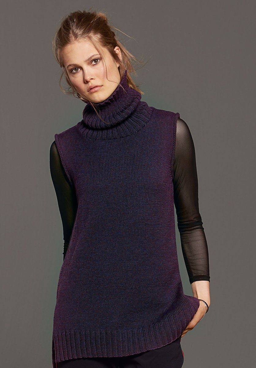 TUNIKA Cool Wool Melange von Lana Grossa