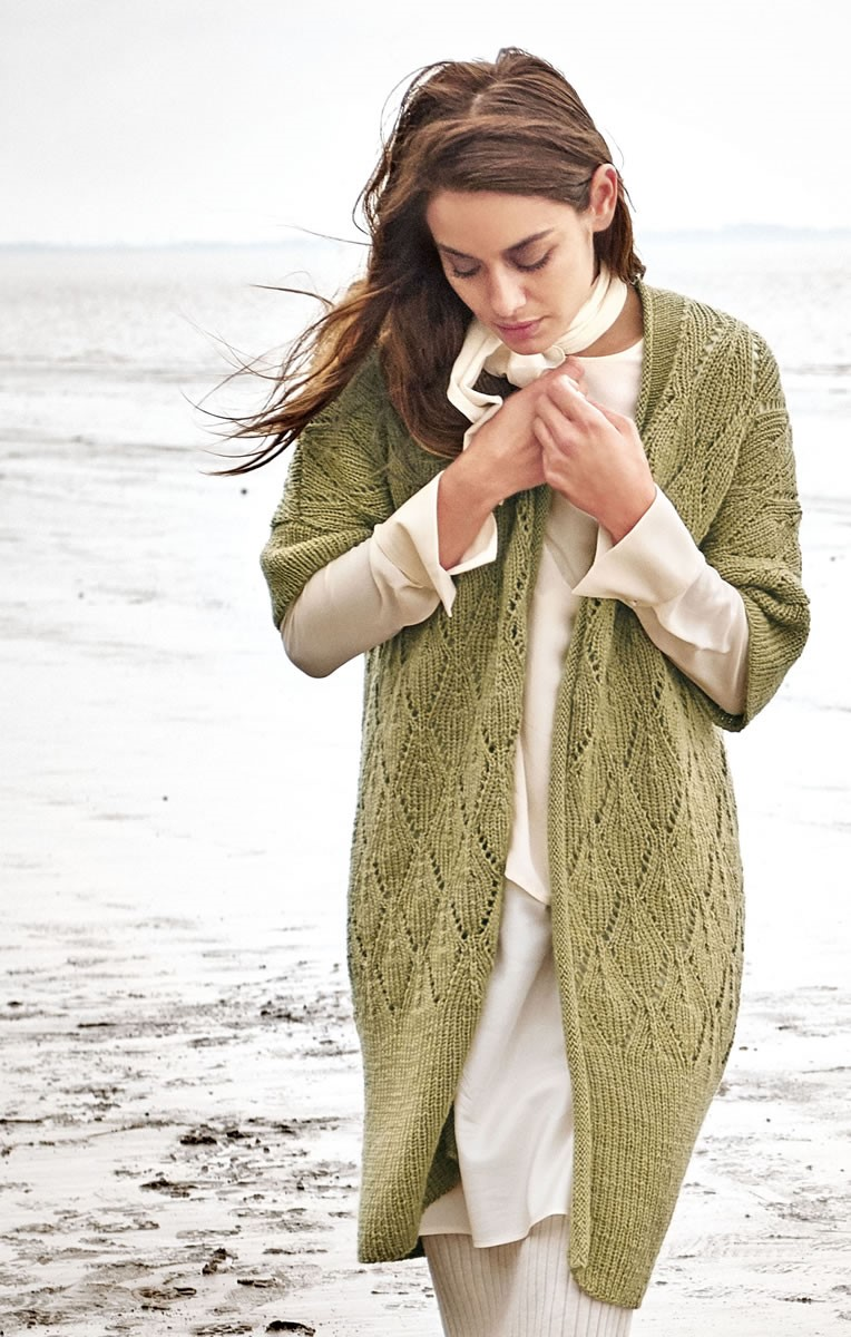 LONGWESTE Cool Wool Alpaca von Lana Grossa