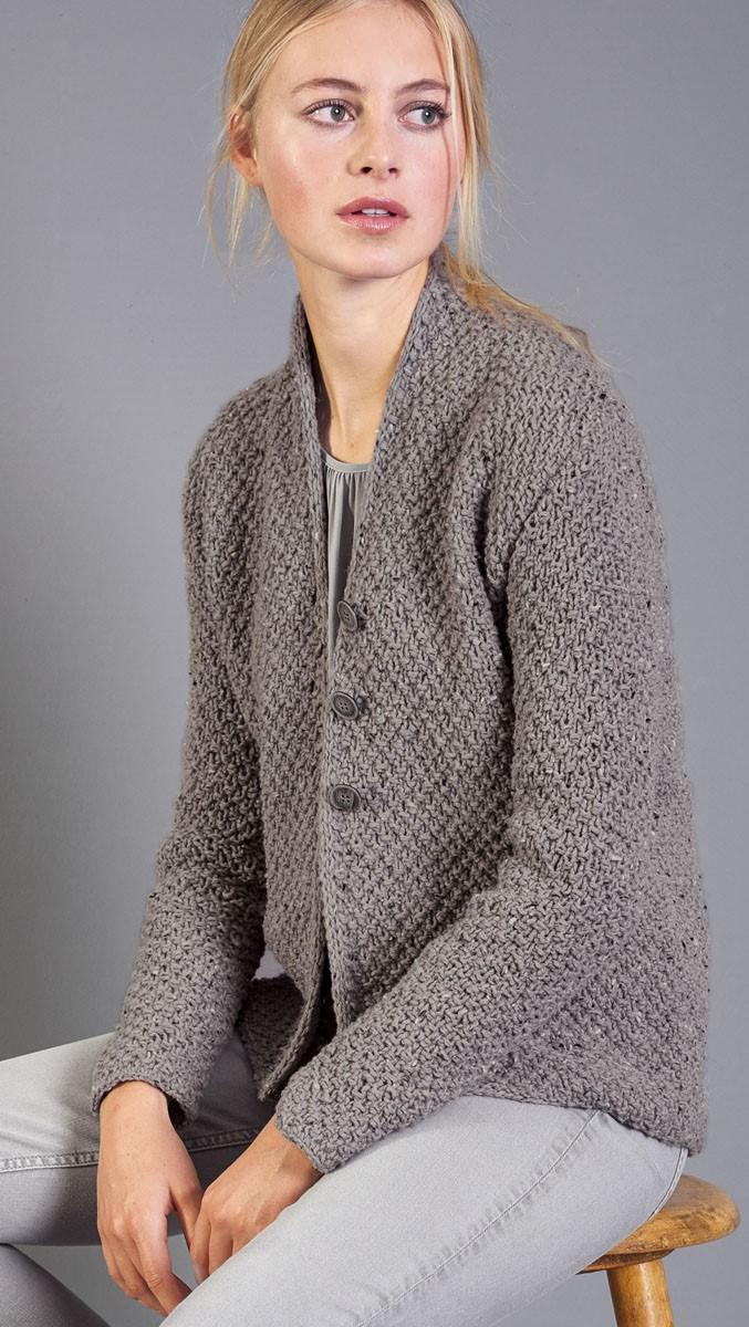 JACKE Royal Tweed von Lana Grossa