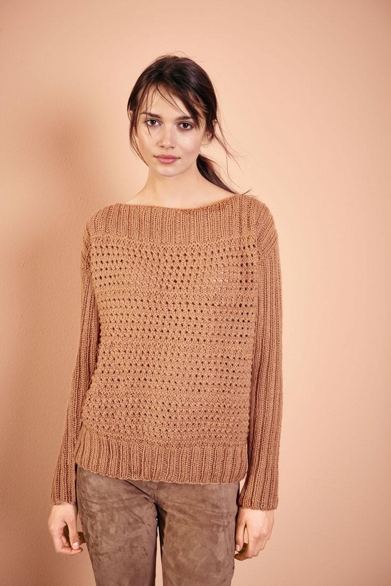 PULLOVER Cool Wool Alpaca von Lana Grossa