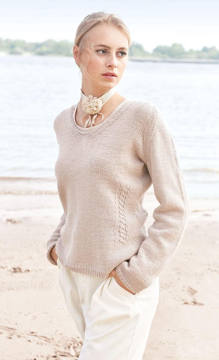 PULLOVER Cool Wool Big von Lana Grossa