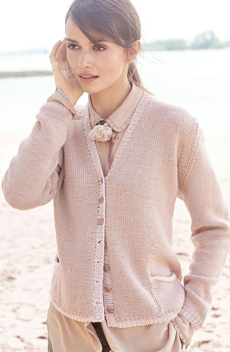 JACKE Cool Wool Alpaca von Lana Grossa