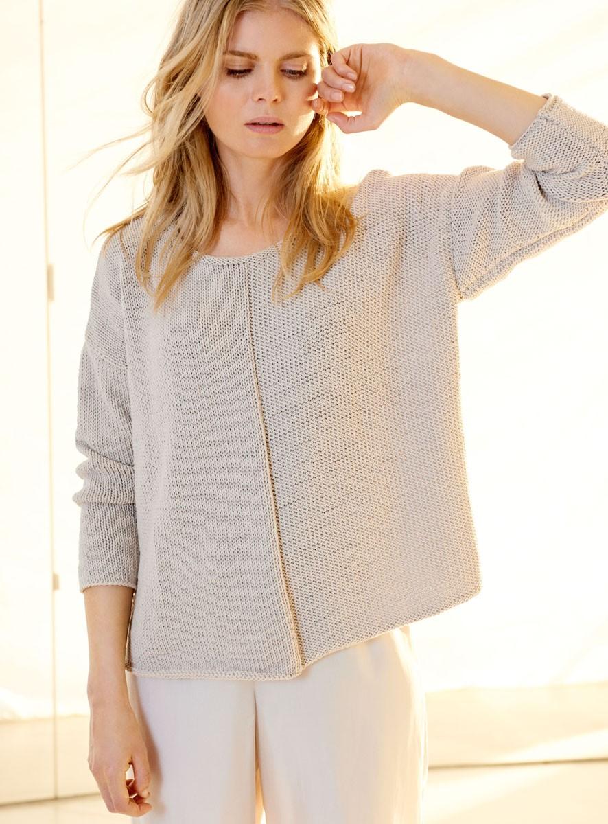PULLOVER Cool Cotton von Lana Grossa