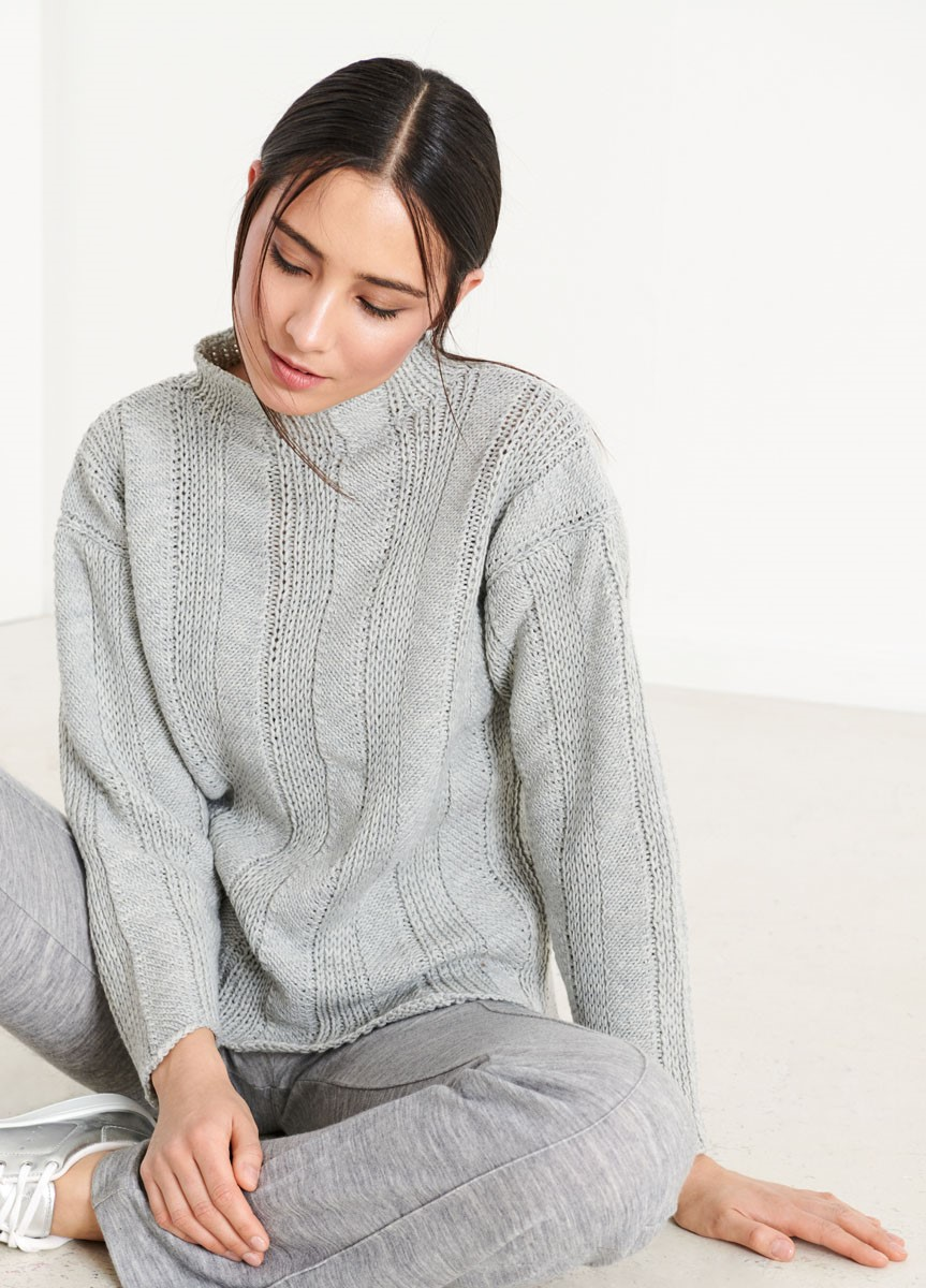 PULLOVER Cool Wool Big von Lana Grossa