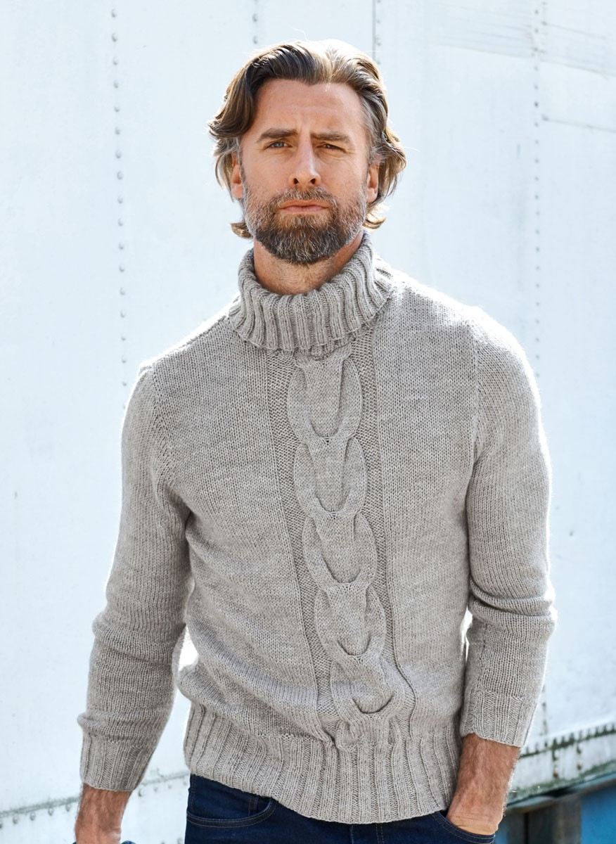 PULLOVER Cool Wool Cashmere von Lana Grossa