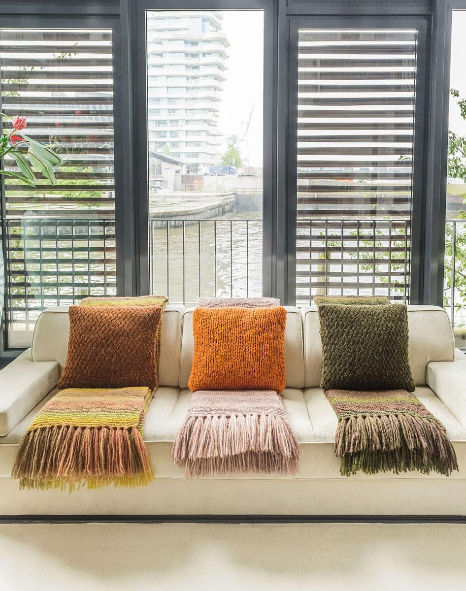 Modelle - HOME & DEKO - Decken - 1 - beim FILATI-Shop Lana Grossa ...